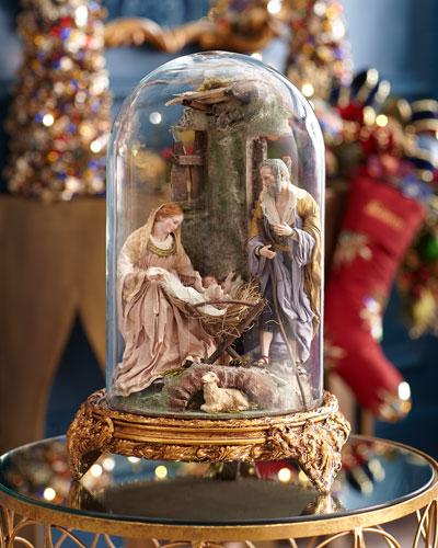 Nativity With Elegant Base
