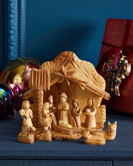 Bethlehem Star Crib & Nativity Set
