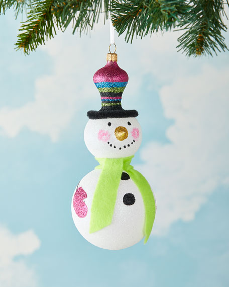 Exclusive Snowman Christmas Ornament