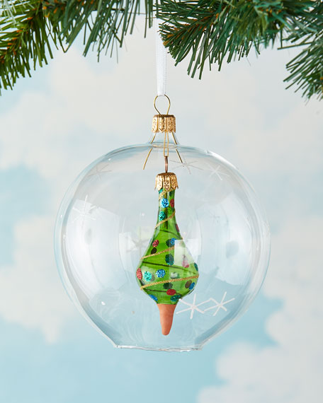 Tree In Ball Christmas Ornament