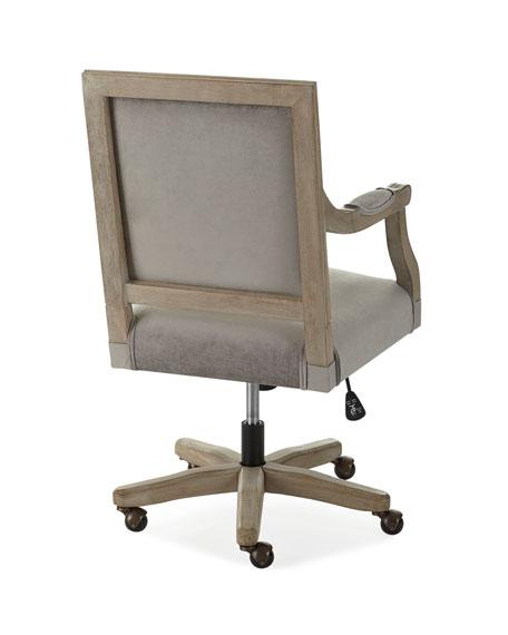 Johua Velvet Office Chair