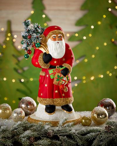 Red Retro Santa