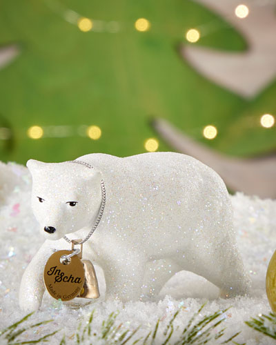 Polar Bear with Bell