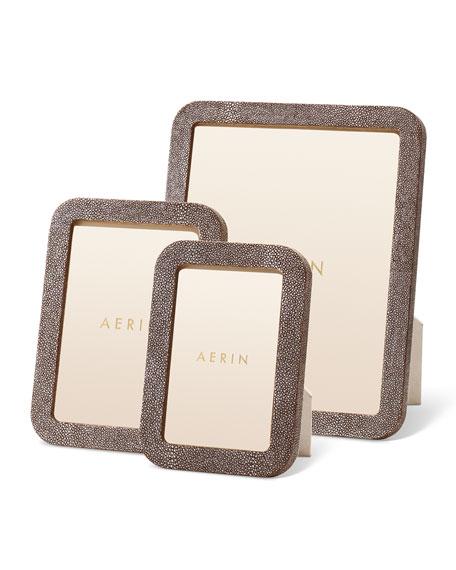 AERIN Modern Shagreen Frame, 8