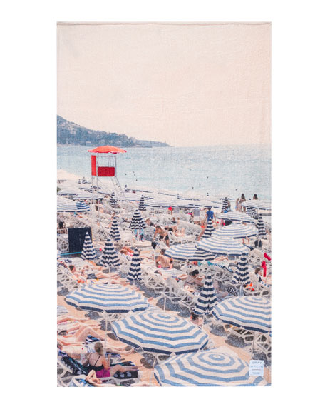 Gray Malin The French Riviera Towel
