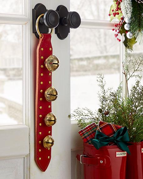 Belsnickel Enterprises 4 Solid Brass Jingle Bells on