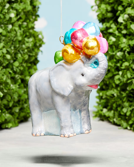 Gray Malin The Elephant Ornament