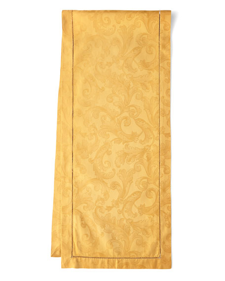 "Plume Jacquard 72""L Table Runner"