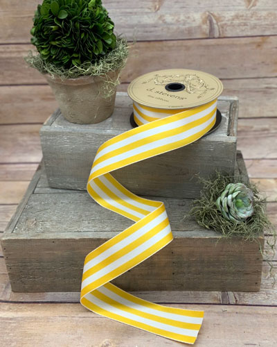Grosgrain Stripe Ribbon  1.5 X 25 Yards