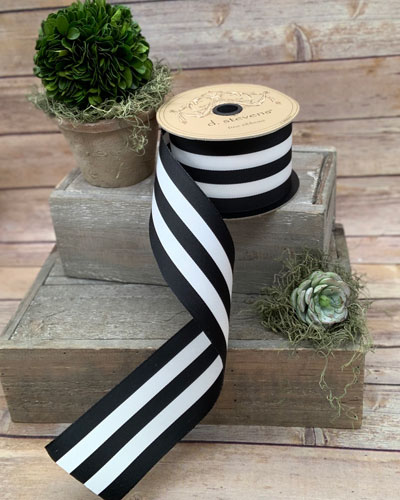 Grosgrain Stripe Ribbon  2.5 X 25 Yards