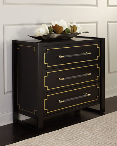 Medina Lacquered Hall Chest