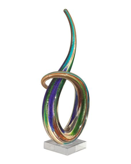 Cieza Art Glass Sculpture