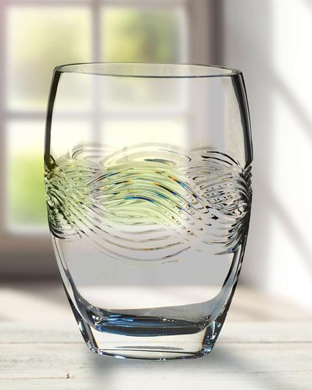 Crystal Braid Vase