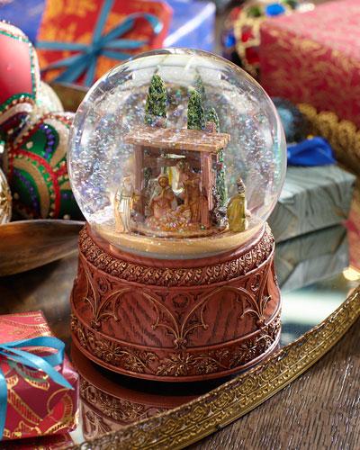 Nativity Snowglobe