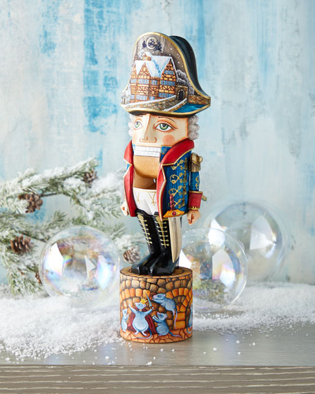 G. Debrekht The Nutcracker Wood-Carved Figurine