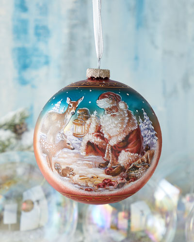 Abundance Of Joy  Limited Edition Glass Ball Ornament