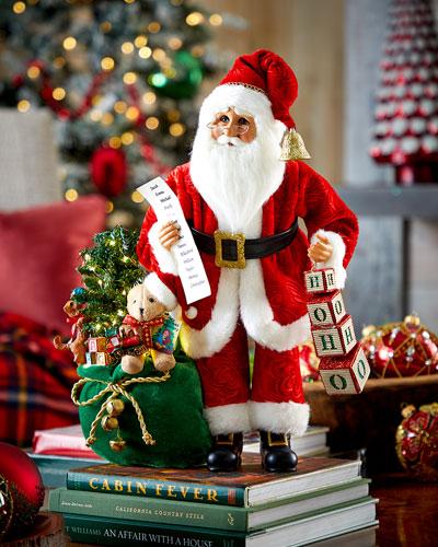 Lighted Hohoho Santa