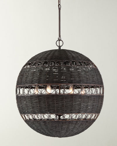 Remy 6-Light Forged Bronze Chandelier