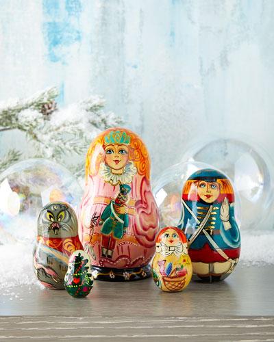 The Nutcracker Nesting Dolls  Set of 5
