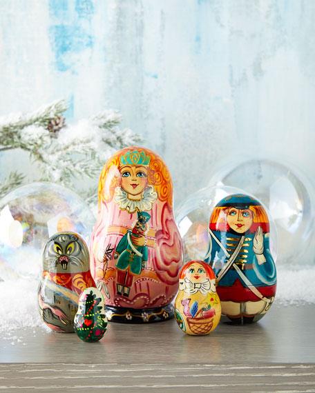 The Nutcracker Nesting Dolls, Set of 5