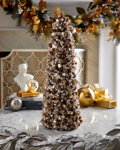 18 Metallic Elegance Tree