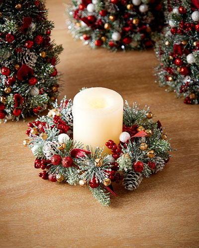 Sparkling Traditions Candle Ring