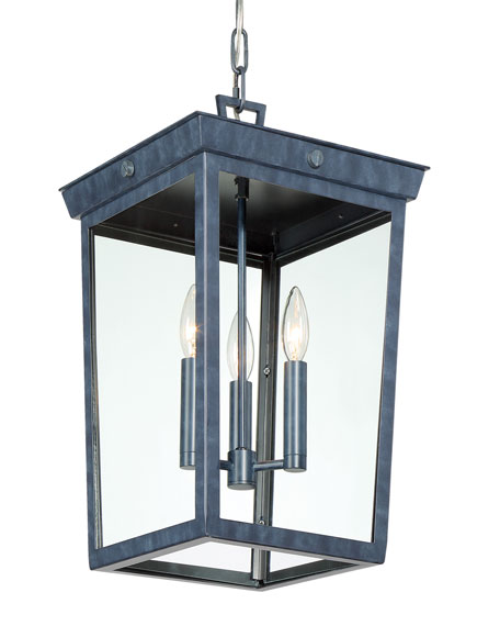 Belmont 3-Light Graphite Pendant