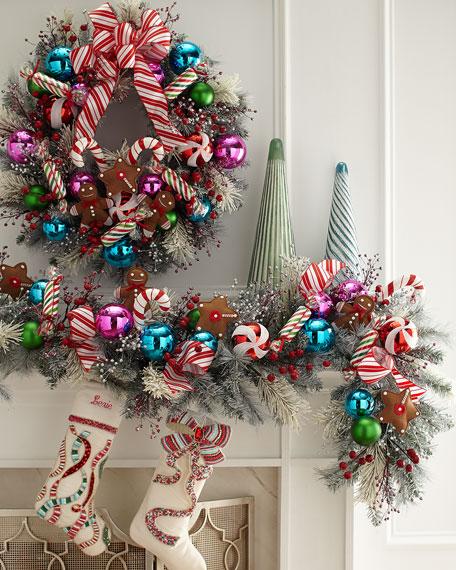 Sweet Holiday Stocking, Personalized
