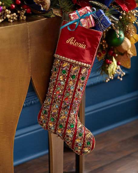 Kim Seybert Marvel Stocking, Personalized