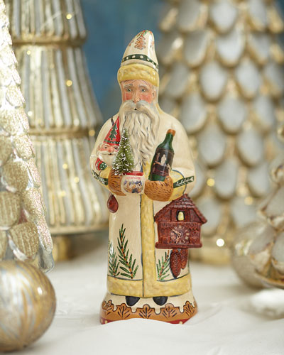 Christkindlesmarkt Gluhwein Santa