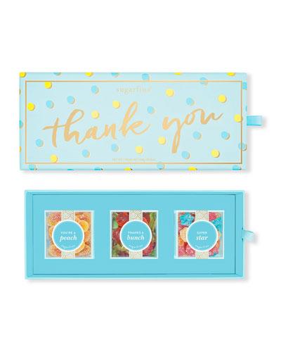Thank You 3-Piece Bento Box