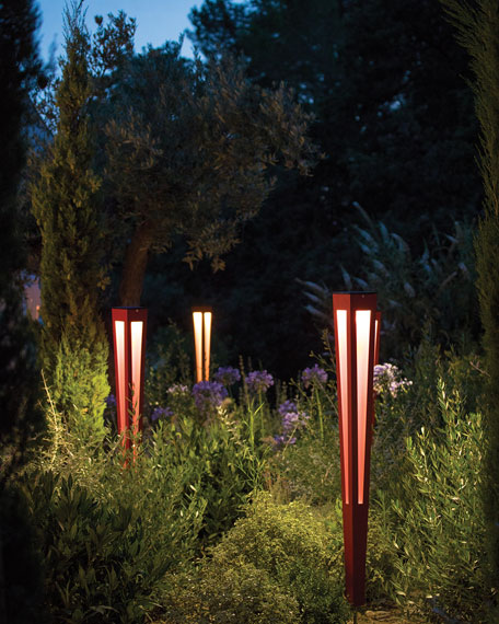 "Lanai Aluminum 46.5"" Torch Lantern"