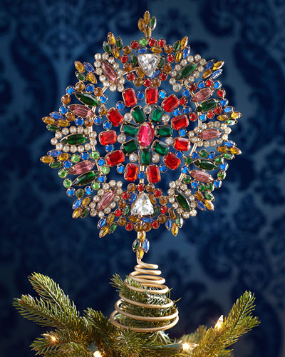 Jeweled Tree Topper