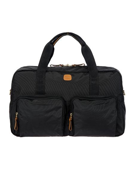 "X-Travel Nylon Boarding Duffel Bag, 18""W"