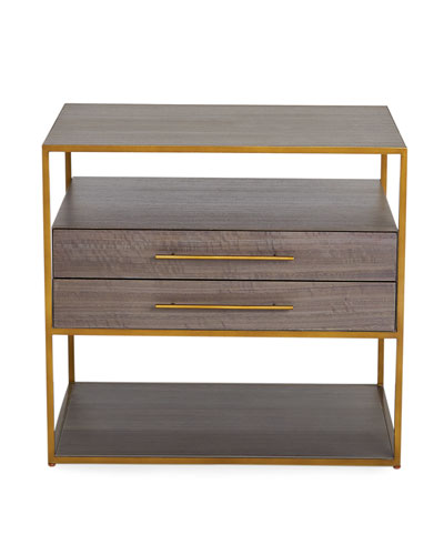 Mack 2-Drawer Side Table