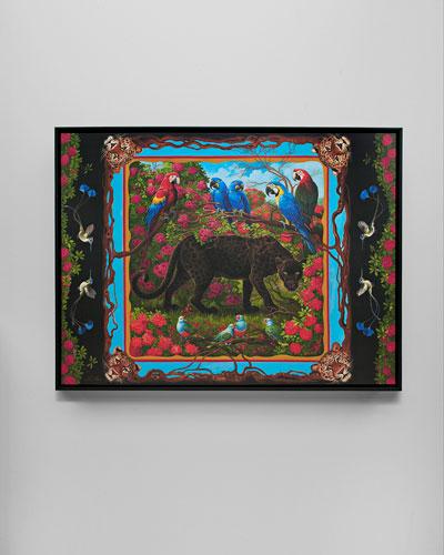Black Panther Giclee Art