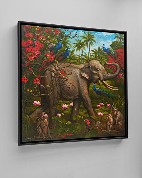 """Jungle of Happiness"" Giclee Art"