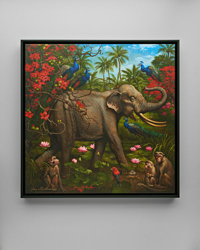 Jungle of Happiness Giclee Art