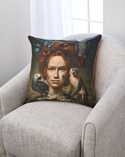 Naturel Jewellry Accent Pillow