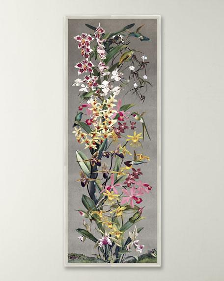 """Silver Orchid Panel II"" Wall Art"