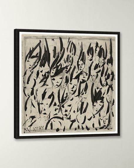 """Convergence II"" Giclee Wall Art"