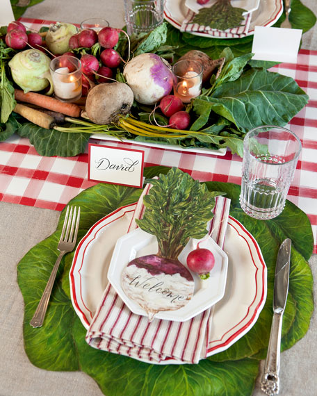 Farmers Market Tablescape Collection