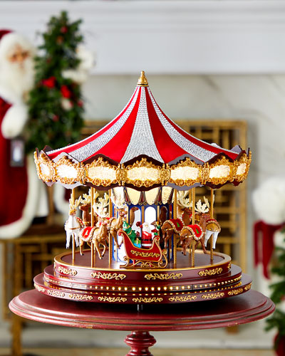 Grand Swarovski Carousel