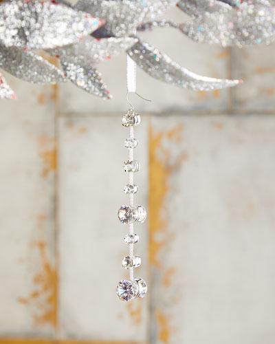 5 Diamond Drop Christmas Ornament
