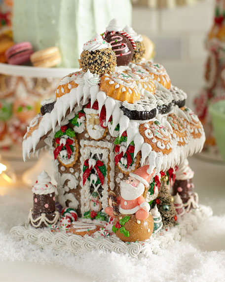"""One-of-a-Kind """"Gingerbread"""" House, Small"""