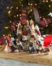Boxer With Leash & Bandana Christmas Ornament