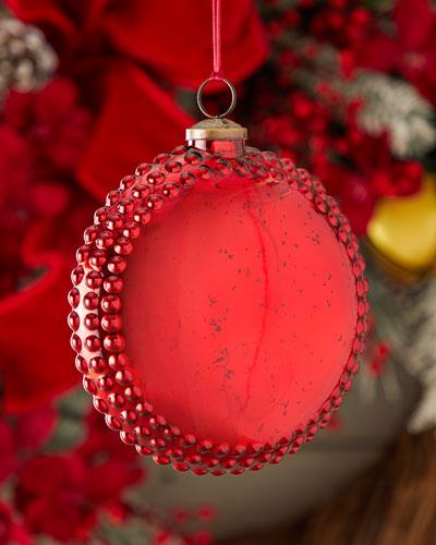 150mm Round Medallion Christmas Ornament