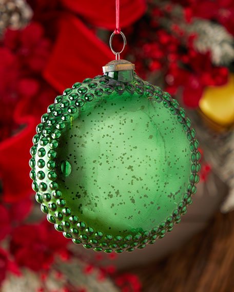 150mm Round Medallion Christmas Ornament
