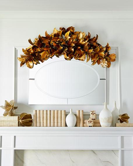 """57"""" Magnolia Leaf Garland"""