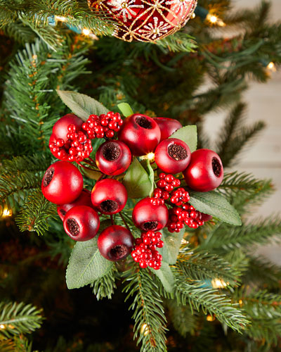 Berry Cluster 12 Christmas Ornament